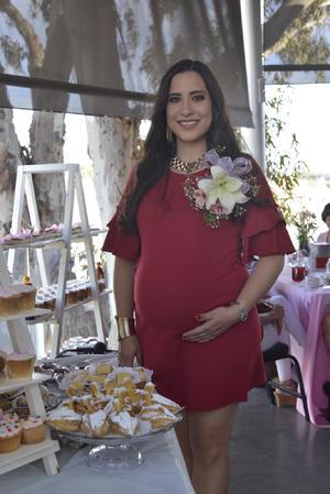 18032018 Yocelyn Torres Téllez recibió una hermosa y elegante fiesta de canastilla por la cercana llegada de su bebé.