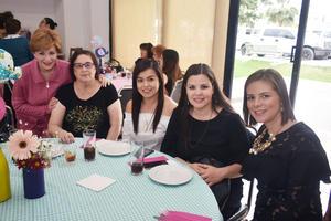 20032018 María Luisa, Velia, Nayat, Iveth y Diana.
