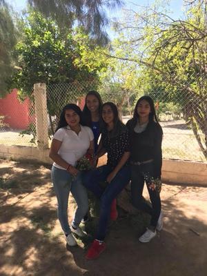 18032018 DíA INTERNACIONAL DE LA MUJER.  Rosa Isela, Andrea, Carolina y Damaris.