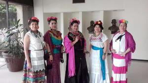 18032018 América Dueñas, Oralia Cortinas, Martha Robles, Maricela Ramírez y Gassy Villarreal.
