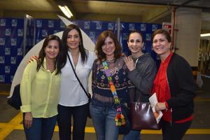 20032018 AMIGAS.  Rosy, Luna, López, Lily y Maricela.