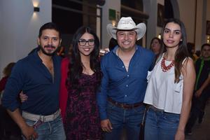 18032018 ENTRE AMIGOS.  Jorge, Ruth, Gerardo y Tamara.