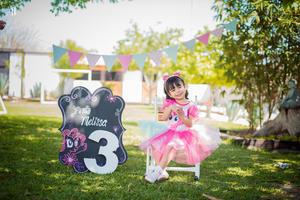 18032018 Paula Melissa celebró su cumpleaños número tres, por lo que le fue organizada una divertida fiesta infantil.