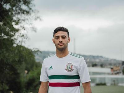 El jugador de Los Angeles FC y seleccionado nacional Carlos Vela.