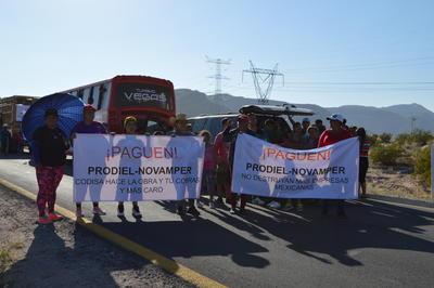 Para las 17:20 horas, no se tenían incidentes mayores en la zona de la protesta, tampoco había presencia de corporaciones de seguridad.