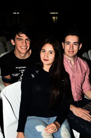 22032018 Iñaki Michelena, Arianeth Wilson y Raúl Muñoz.
