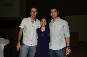 22032018 Manolo Fernández, Rosario Olloqui y Omar Montoya.