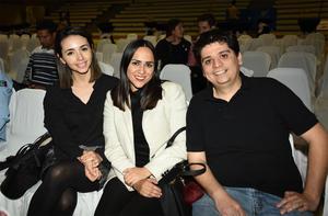 22032018 Esmeralda Velázquez, Mónica Tagle y Miguel Martínez.