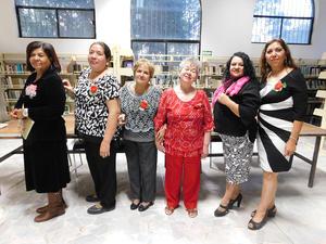22032018 AMENA VELADA.  Adela, Marylola, Irma, Antonia, Alejandra y Blanca.