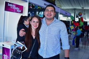 22032018 EN PAREJA.  Mayra y Cacho.
