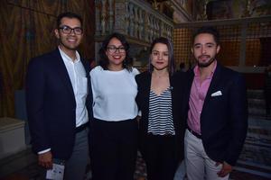 23032018 Raúl, Valeria, Claudia y Julio.