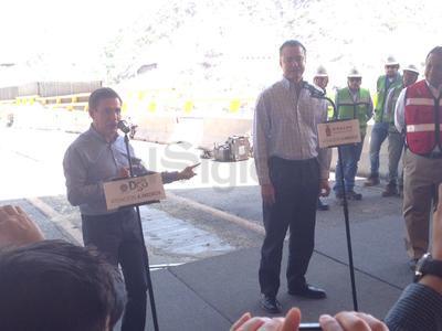 Con la presencia de los gobernadores de Durango y Sinaloa, este viernes se abrió la circulación parcial de la 'Súper'.