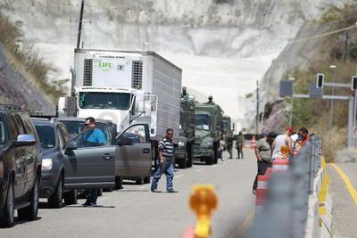Habrá un alto total a la altura del puente provisional, con toda la intención de obligar a los conductores a circular con poca velocidad.