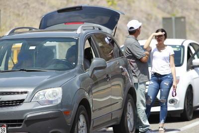 En la zona se implementó señalización, de tres kilómetros hacia el lado de Mazatlán y tres kilómetros hacia Durango.