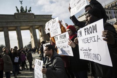 Berlín fue otra ciudad que se sumó.