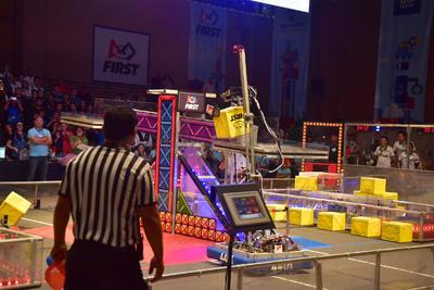 Arena de juego de la competencia FIRST Laguna.