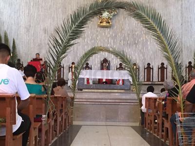 Se realizó una misa en Catedral.
