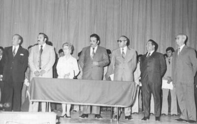 25032018 Reunión del Patronato de la Escuela Técnica Industrial en 1973.