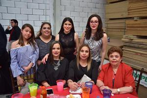 25032018 EN FESTEJO.  Ana Paola, Alma, Zayra, Loretto, Carmen, Patricia y Carmen.