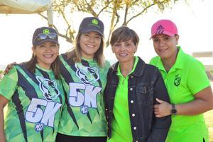 26032018 Mayela Castañeda, Cynthia García, Claudia Rodríguez y Vero Chávez.