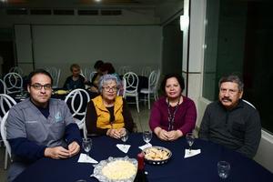 27032018 Gerardo, Martha, Mayela y Gustavo.
