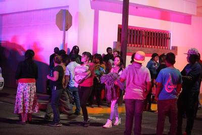 Minutos después de las 20:00 horas de este martes se registró un siniestro que consumió enseres y ropa en el albergue de la comunidad indígena de Santa María de Ocotán y Xoconostle.