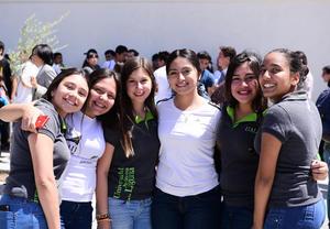 28032018 María Guadalupe, Luisa, Berenice, Sofía, Diana y Paola.