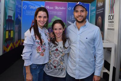 29032018 Begoña, Alejandra y Miguel