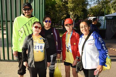 29032018 Mía, Mayte, Marcelo, Sandra y Adrián.