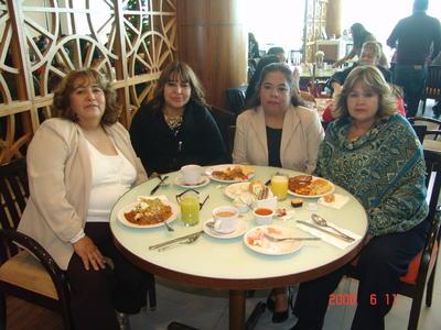 29032018 Norma, Lupita, Martha y Rosaura.