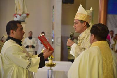 Con esta celebración de Jueves Santo se dio inicio al Triduo Pascual.