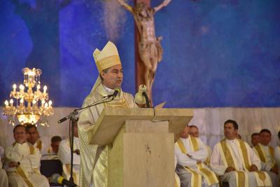 Acudieron casi la totalidad de los sacerdotes de la Diócesis de Torreón.