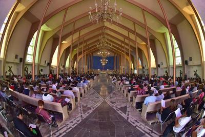 Tuvo lugar en la parroquia de San José.