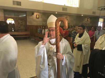 Estuvo encabezada por Monseñor Luis Martín Barraza Beltrán.