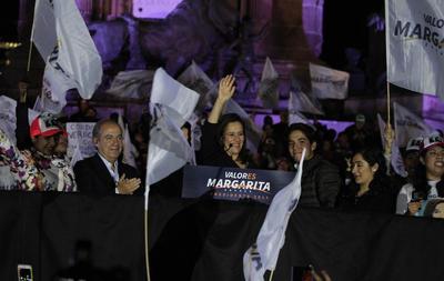 La candidata independiente a la Presidencia de México, Margarita Zavala, esposa del expresidente Felipe Calderón (2006-2012), encabezó el arranque de su campaña ayer, viernes 30 de marzo de 2018, en un acto celebrado en la capital mexicana.