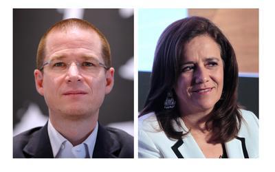 Los candidatos que iniciaron campaña a primera hora fueron el candidato Por México al Frente, Ricardo Anaya y la expanista ahora independiente, Margarita Zavala, esposa del expresidente Felipe Calderón (2006-2012).