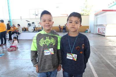 Rafael y Carlos.