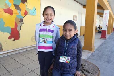 María José y Megan.