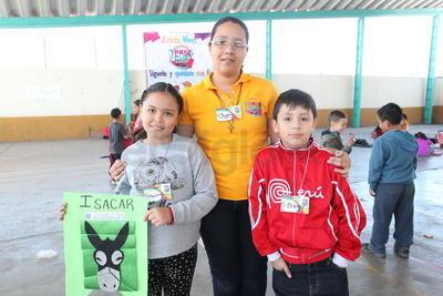 Mariana, Yayas y Diego.