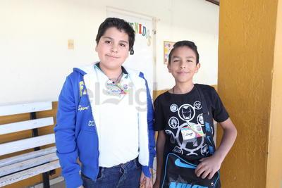 Sebastián y Diego.