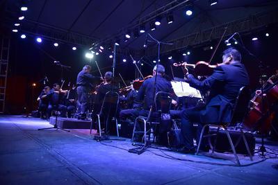 Al final del evento la Camerata de Coahuila ofreció un concierto el cual duró poco más de una hora.