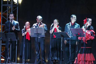 Durango se entregó a 'El Cristo Andaluz' un año más.