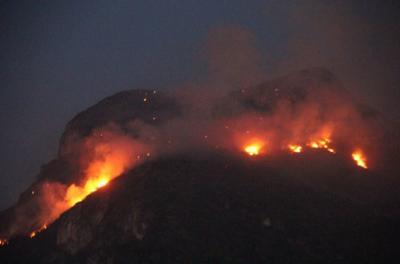 Se estimó una afectación a una superficie de 400 hectáreas y se cuenta con indicios de que fue causado por excursionistas que estaban en la zona.