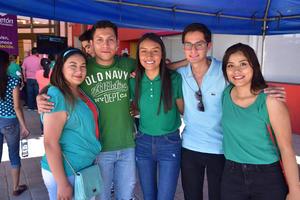 03042018 Mariana, Javier, Jaqui, Pablo y Caro.
