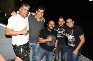 03042018 Beto, Cosme, Poncho, Víctor y César.