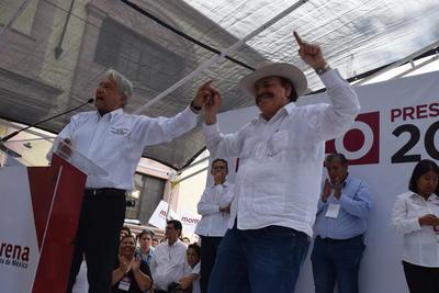 """Reiteró que """"México no va a ser la piñata de ningún país"""" y que su discurso con la política antimexicana no es más que una estrategia para conservar la hegemonía republicana."""