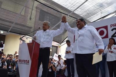 El candidato por la coalición Juntos Haremos Historia, Andrés Manuel López Obrador, consideró que el discurso del presidente de Estados Unidos, Donald Trump sobre militarizar la frontera y continuar con la ley antimigratoria es parte de una campaña para buscar la reelección.
