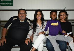04042018 Jesús Carranza, Diana Carranza, Maximiliano G. Carranza y Rosa Carranza.