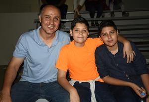 04042018 Edgardo Cepeda, Diego Cepeda y Edgardo Cepeda jr.