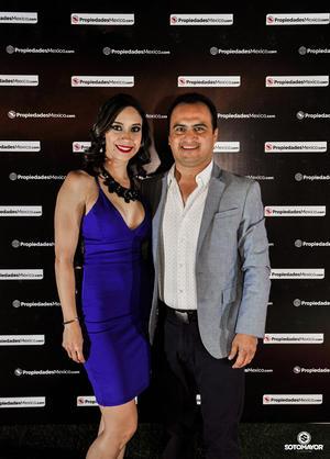 Diana Chavez y Juan Carlos Robles